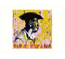Viva Espana Art Print