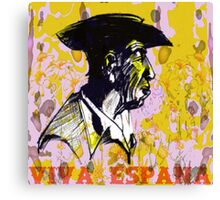 Viva Espana Canvas Print