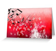 Musicalities Greeting Card
