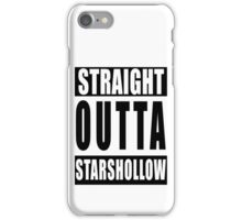 Straight Outta Stars Hollow iPhone Case/Skin