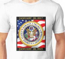 President Donald Trump 2017 - 2025 Unisex T-Shirt