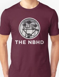 The Neighbourhood Palm Tree Print The NBHD Band Shirt White Unisex T-Shirt