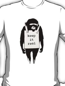Banksy Keep it Real T-Shirt