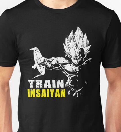 TRAIN INSAIYAN - Vegeta Hardcore Squat - Leg Day Unisex T-Shirt
