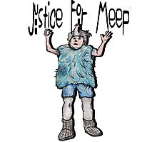 Justice For Meep Photographic Print