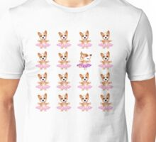 Miss Corgi Hears A Cadenza Unisex T-Shirt