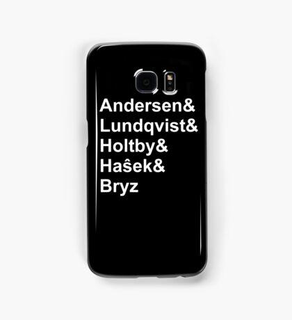 Helvetica NHL Goalie List Samsung Galaxy Case/Skin