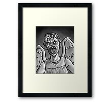 Weeping Angel! Framed Print