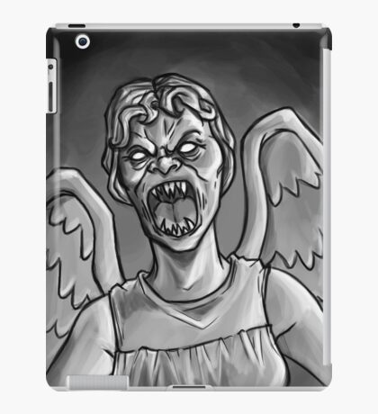 Weeping Angel! iPad Case/Skin