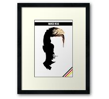 Marco Reus - German National Team DFB Framed Print