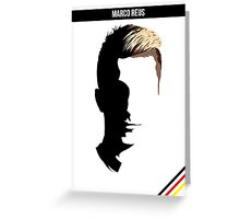 Marco Reus - German National Team DFB Greeting Card