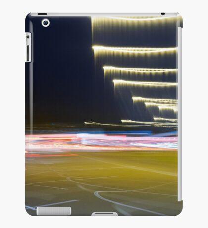 Freeway blur iPad Case/Skin