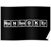 Nonsmoker - Periodic Table Poster