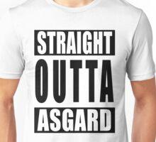 Straight Outta Asgard Unisex T-Shirt