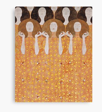 Beethoven Frieze by Gustav Klimt Canvas Print