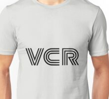 Retro VCR Technology Logo Unisex T-Shirt