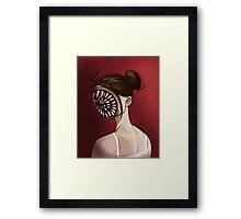 Ballerina Dentata Framed Print