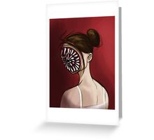 Ballerina Dentata Greeting Card
