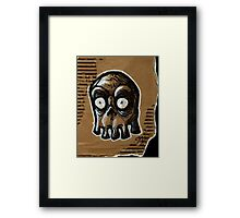 Blinky Ghost Framed Print