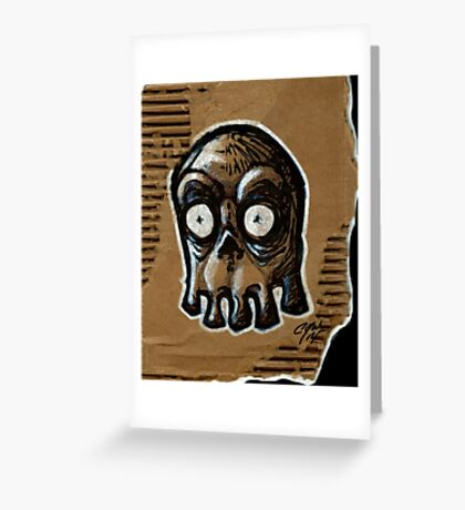 Blinky Ghost Greeting Card