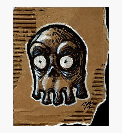 Blinky Ghost Photographic Print