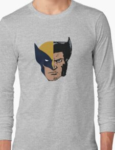 Wolverine Logan Face Long Sleeve T-Shirt