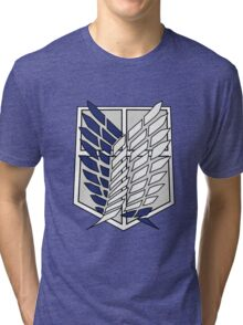 Attack On Titan Logo T shirt Tri-blend T-Shirt
