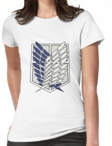 Attack On Titan Logo T shirt Womens Fitted T-Shirt