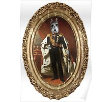 Sir Buddy Duke of Sniffinbutts Framed Poster