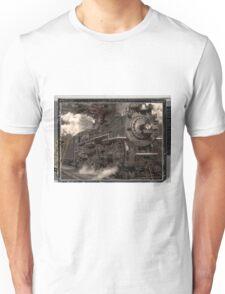 All Aboard Locomotive Unisex T-Shirt
