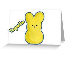 Peepachu Greeting Card