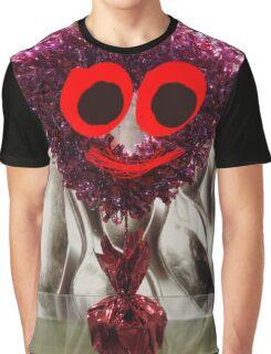 Glittery Heart Guy Graphic T-Shirt