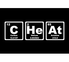 Cheat - Periodic Table Photographic Print