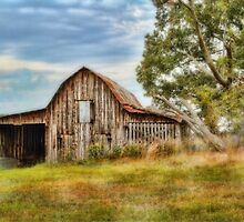 Country Time Barn  by Barry  Jones