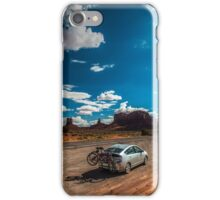 Monument Valley Road Trip iPhone Case/Skin