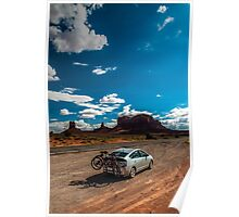 Monument Valley Road Trip Poster