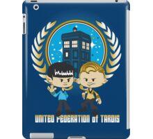 United Federation of Tardis iPad Case/Skin
