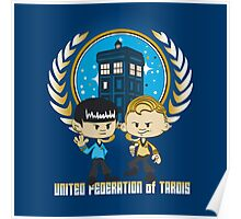 United Federation of Tardis Poster