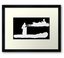 Final Fantasy VII - Cloud Silhouette Framed Print
