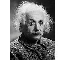 Einstein Photographic Print