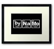 Dynamo - Periodic Table Framed Print