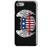 American Pride (Black) iPhone Case/Skin