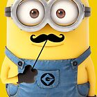 Minion Moustache Despicable Me Funny by mattgobe