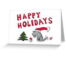 Jack - Happy Holidays from Santa Jack Greeting Card