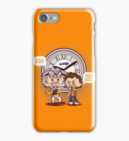 Back in Time iPhone Case/Skin