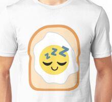 Bread with Egg Emoji Sleep and Dream Unisex T-Shirt