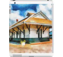 Pascagoula Train Depot iPad Case/Skin
