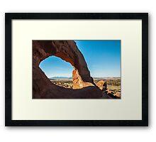 Stone Arch in Utah Framed Print