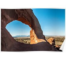 Stone Arch in Utah Poster