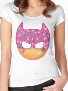 Doughman: The Iced Crusader (Strawberry Edition) Women's Fitted Scoop T-Shirt